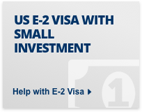 US E-2 visa with small investment