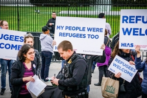 2017.03.01 #JewsForRefugees Rally, Washington, DC USA 01321