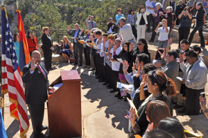 Grand Canyon naturalization ceremony 30 June 2017