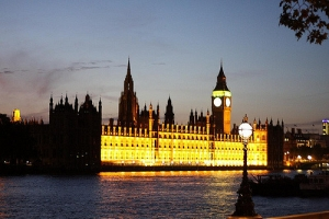 Houses of Parliament, London By Night