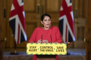 Priti Patel Covid-19 Press Conference 22 May 2020
