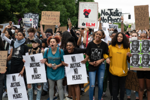 Black Lives Matter march in Portland, OR. June 4, 2020