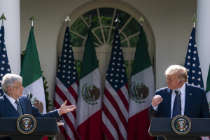 President Trump Welcomes the President of Mexico to the White House 8 July 2020