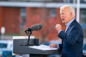 Joe Biden Mobilization Event at Dallas High School - Dallas, PA 24 October 2020