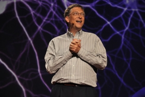 Bill Gates a founder of Microsoft that has faced skills shortages
