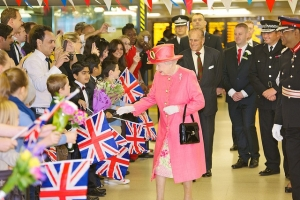 Queen Elizabeth II of UK Day 194 - West Midlands Police - Royal Diamond Jubilee Visit