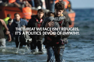 Banner for Help Refugees