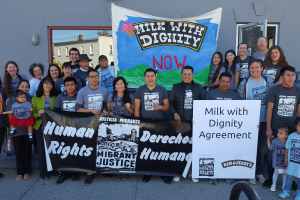 Ben and Jerry's signs Milk with Dignity 3 October 2017