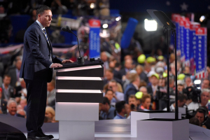 Peter Thiel, founder of Palantir Speaker at Republican National Congress 2016