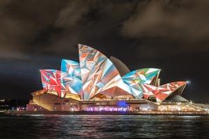 Sydney Opera House, Highlights of Vivid Sydney 2014, Australia