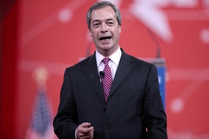 Nigel Farage former Leader of UKIP UK Independence Party