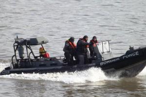 Border Force RIB (1) @ Gallions Reach 10 March 2015