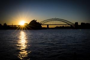 Sunsettin' Sydney, Australia