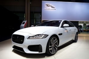 Jaguar Land Rover at the 2015 Dubai Motor Show - Now Indian owned