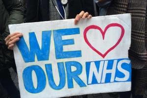NHS Junior Doctors Protest