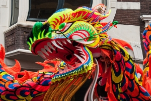 Fierce Chinese Dragon