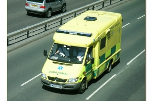 South Western Ambulance WX06UVA