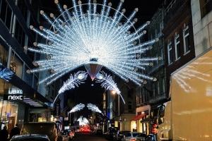 London Xmas lights