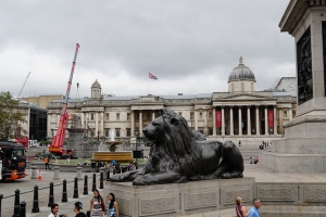 Lion at Trafalgar Square