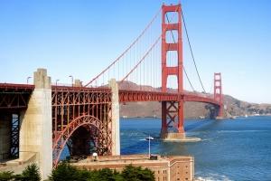the beautiful golden gate bridge, scott richard
