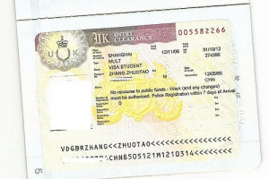UK Entry Clearance Visa