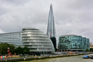 London Trip, City Hall And The Shard