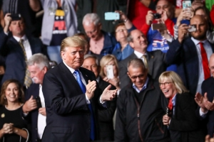 Trump Maga Rally in Charlotte, North Carolina