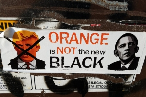 Trump Orange is not the new black