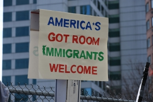 America's got Room Immigrants Welcome