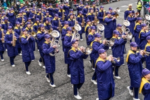 Jackson High School - Purple Army Marching Band [Dublin Patricks Day Parade 2018]-137642