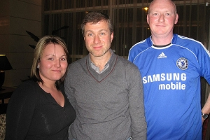 Roman Abramovich Russian Billionaire formerly on Tier 1 Investor Visa - Chelsea - Sheraton Porto - 22/02/07
