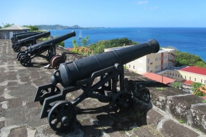 Guns of Fort George, Grenada