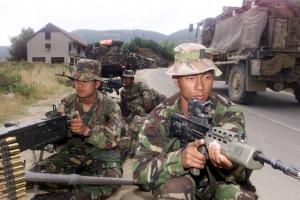 Gurkhas in Kosovo
