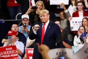 Trump MAGA rally in Johnson City, Tennessee
