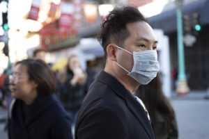 Coronavirus fears, Chinatown San Francisco