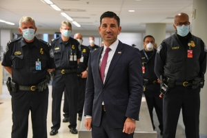 Acting Homeland Security Secretary Chad Wolf traveled to Dallas and Ft. Worth, 22 May 2020