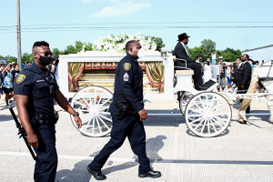 George Floyd funeral procession 9 June 2020
