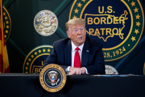 President Donald Trump commerates 200 Miles of Border Wall Constructed 23 June 2020