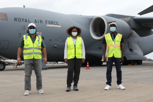 The United Kingdom flies medical equipment to West Africa following UN call for support 28 June 2020