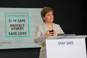 Nicola Sturgeon First Minister of Scotland COVID-19 press conference - 23 July 2020