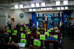 Trump White House Press Briefing 18 August 2020