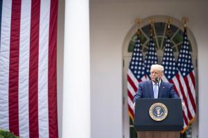 Donald Trump White House Update on Coronavirus Testing 28 09 20