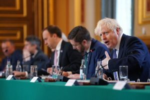 Boris Johnson Cabinet Meeting 13 10 20