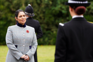 Priti Patel, Home Secretary, Essex Police Pass Out Parade 29 October 2020