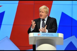 Boris Johnson at Conservative Party Conference, 2011