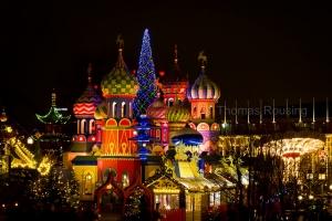 Tivoli Christmas town, Russia