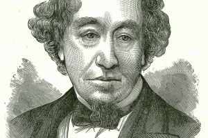 Benjamin Disraeli (1804-1881) former British Prime Minister of Italian Jewish Ancestry