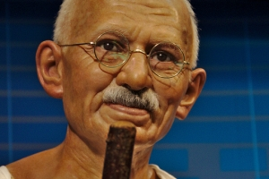 Mahatma Gandhi who studied at University College, London, UK
