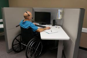 disabled teleworker