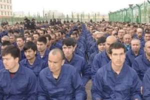 "Chinese ""concentration camp"" in Xinjiang China"